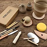 Meuxan 40PCS Pottery Tool Set Clay Sculpting