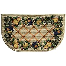 Kitchen fruit rugs for Kitchen rugs with fruit design