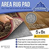 Area Rug Pad with Grip Tight Technology (5x8) | Non