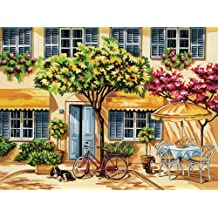 Reeves Al Fresco Acrylic Painting Set by Numbers, Large