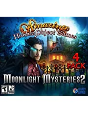 Moonlight Mysteries 2: Amazing Hidden Object Games (4 Pack)