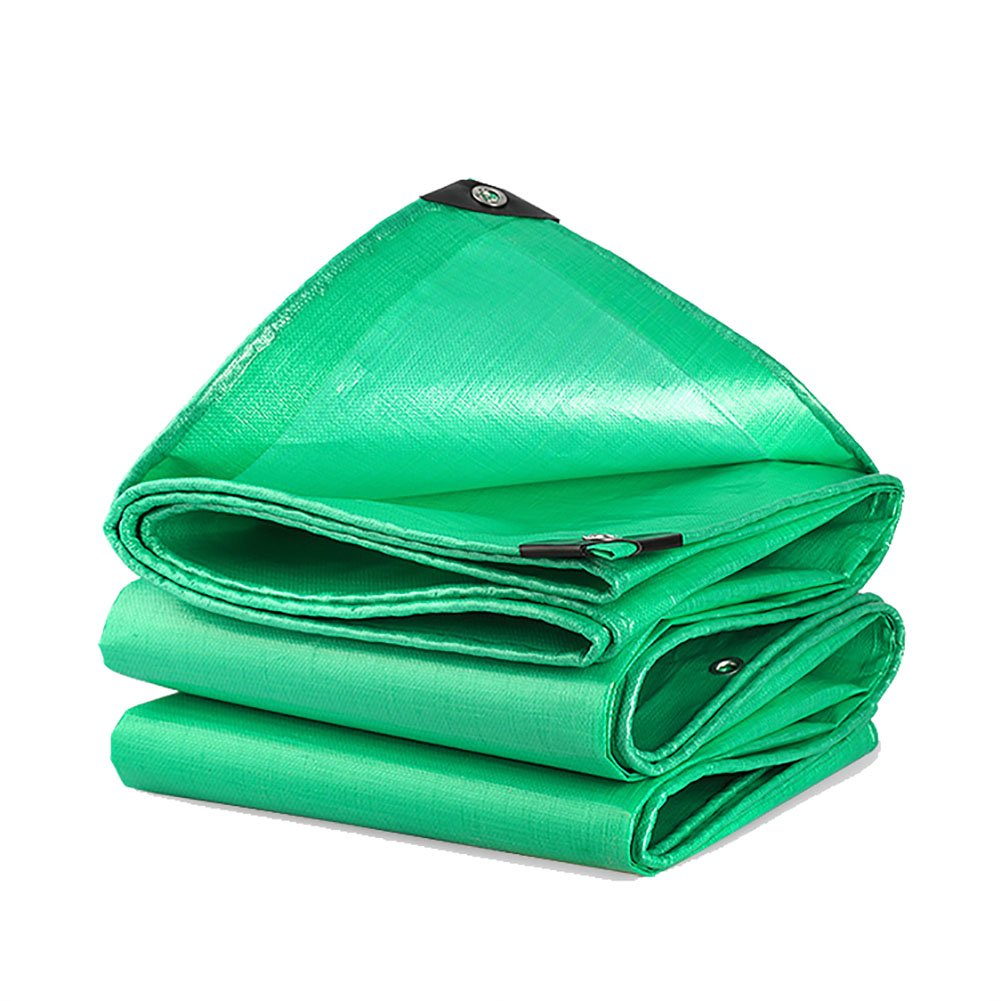 JNYZQ Plane Wasserdichte Hochleistungs-Plane-Blatt-Grün im Freien regendichte Sonnenschutz-Zelt-Spleiß-Markise Sun Shade-210G   M² (größe   5  5m)