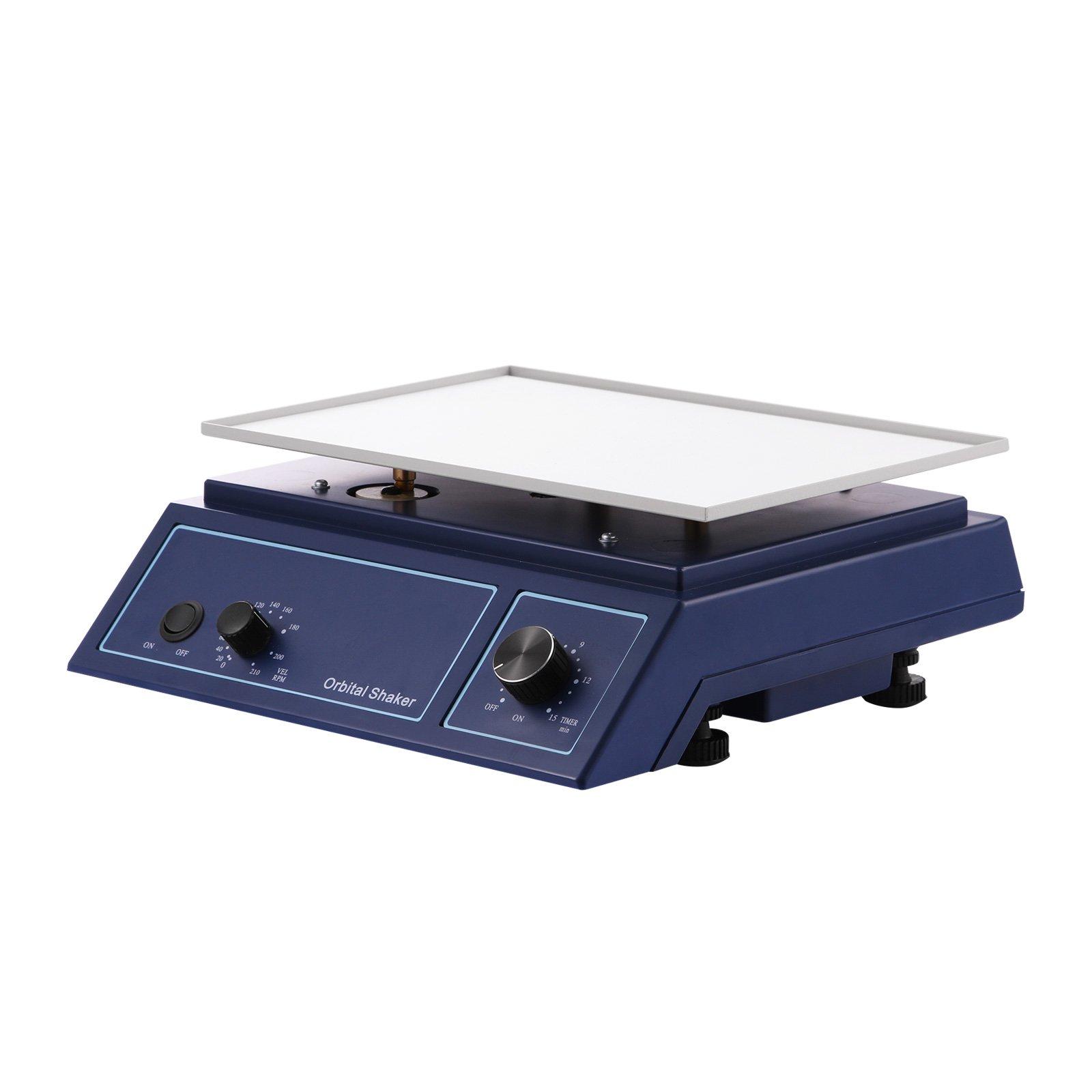 VEVOR Adjustable Variable Speed Oscillator Orbital Rotator Shaker 0~210 RPM Orbital Shaker by VEVOR