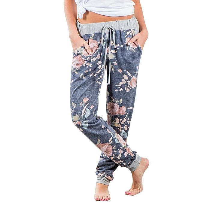 Amazon.com: CCatyam pantalones de pierna ancha para mujer ...