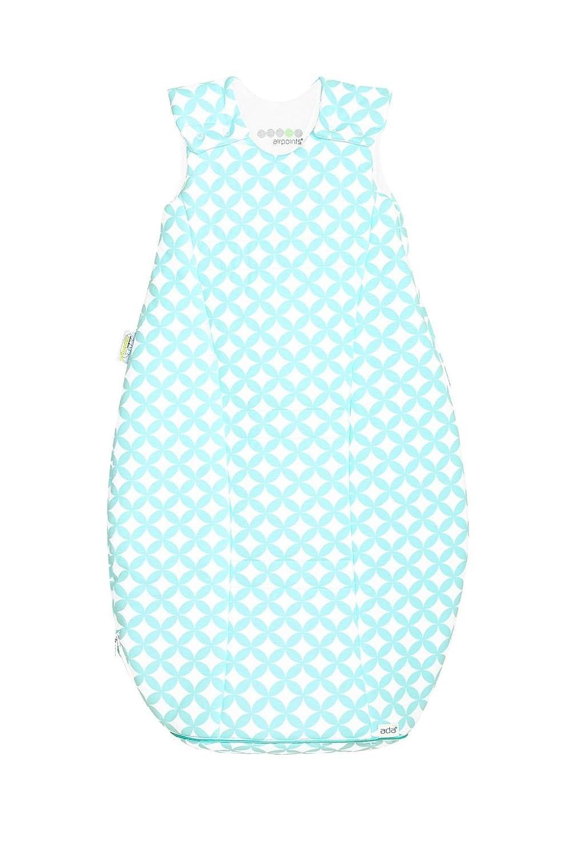 Odenwälder Jersey-Schlafsack airpoints ornamento mint, Größe 90