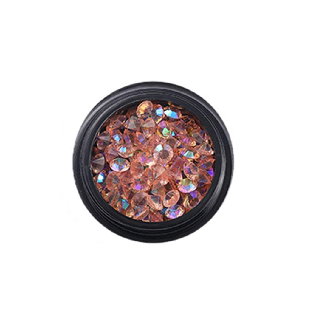 Nail Art Decoration Rhinestones Tips Acrylic Manicure Glitters 3d Glitter NewKelly