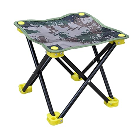 Furniture Special Section Foldable Outdoor Portable With Backrest Stool Small Chair Fishing Chair