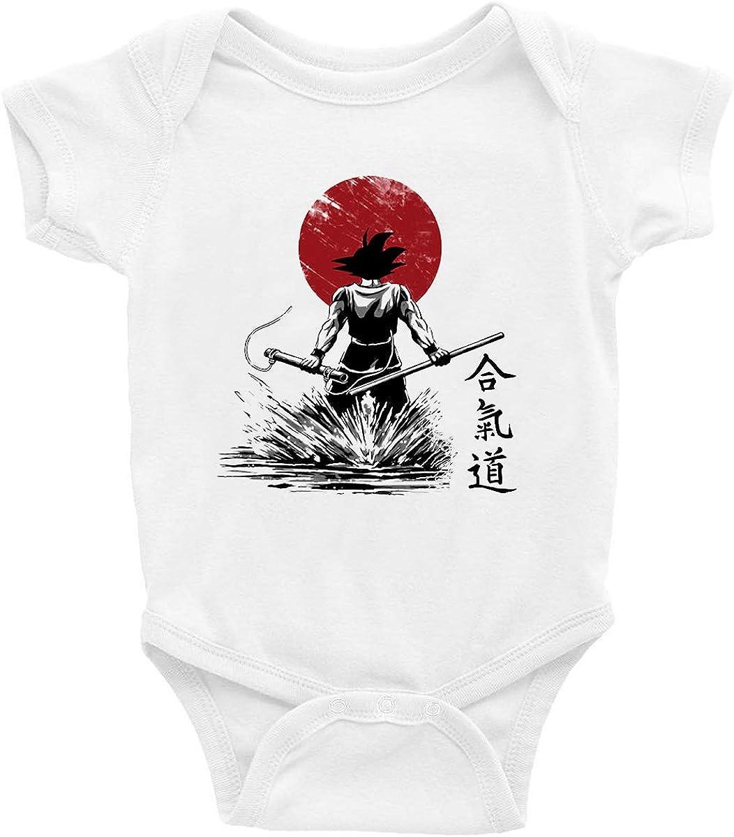 Taglie da 0 Mesi Goku Idea Regalo Super Sayan Tutina t-shirteria Body Neonato Dragonball Pagliaccetto