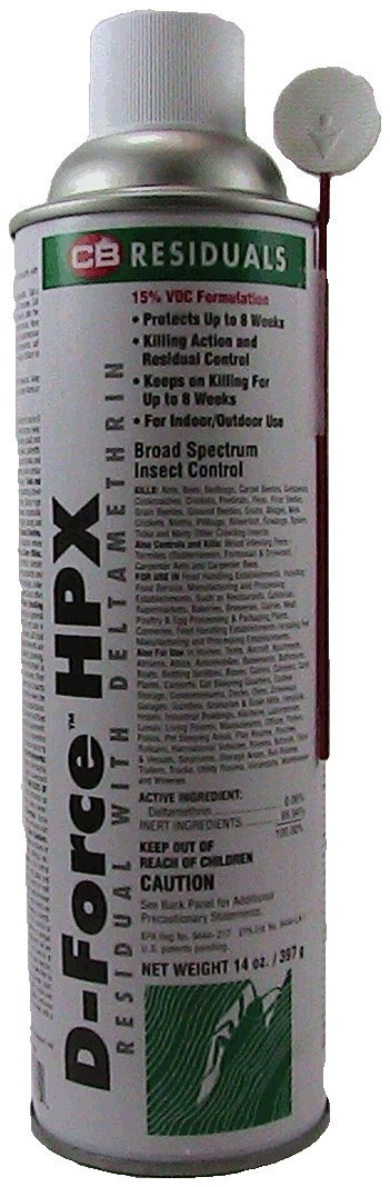 D-force HPX 14 Oz Can CASE OF 8 CANS by CB Residuals