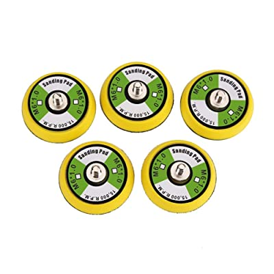 Valianto 5Pcs 2-Inch Dual-Action Hook & Loop Polishing Pad, M6 Thread | 15,000 RPM: Automotive