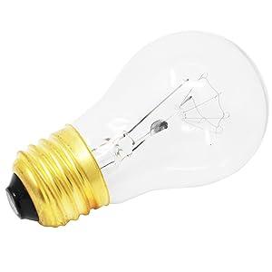 Replacement Light Bulb for Frigidaire AP4339192 Range/Oven - Compatible Frigidaire 316538901 Light Bulb