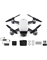 DJI Spark Mini Drone Fly More Combo with 16G SD Card, Alpine White
