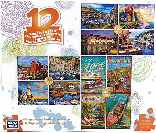12 Family Puzzle Pack
