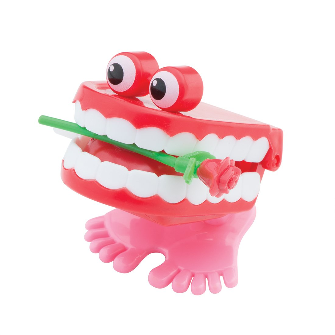 SmileMakers Chattering Teeth with Rose- Prizes 36 per Pack by SmileMakers (Image #1)