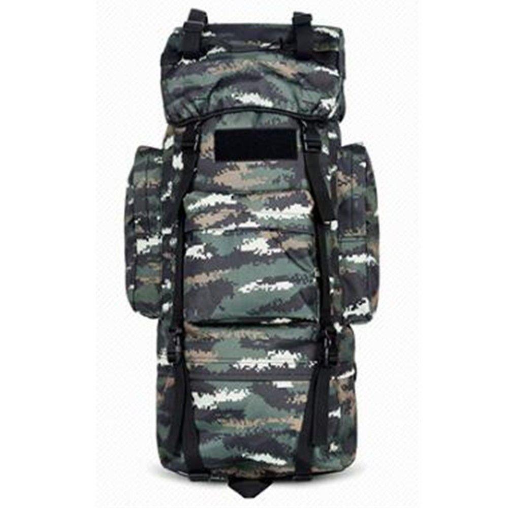 70L Camouflage CP SHULING Sac d'alpinisme en Plein Air 115L Hommes Et Femmes Grande Capacité Sac à Dos sacages sacages Sac De Voyage sur Pied