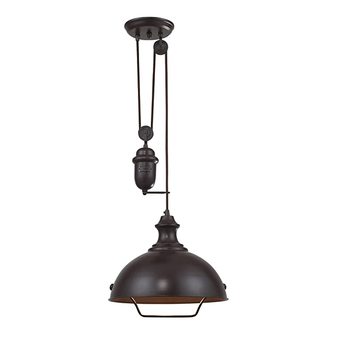 Amazon.com: elk lighting colgante 65071 – 1, 65071-1, 100.00 ...