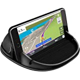 Loncaster Car Phone Holder, Car Phone Mount Silicone Car Pad Mat for Various Dashboards, Slip Free Desk Phone Stand Compatibl