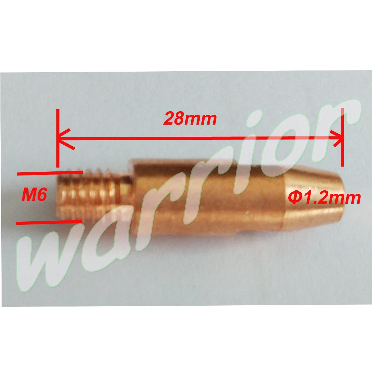 Warrior 19pcs Accessories Kit For Binzel MIG Welding Torch MB36 MB 36KD Nozzles Contact Tips Holder 1.2mm Gas Diffusers