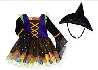 bccb51852acc Koala Kids Toddler Girls Velour Witch Costume with Hat