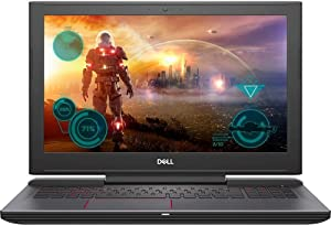 Dell Inspiron 15 7000 Series Gaming Edition 7567 15.6-Inch Full HD Screen Laptop - Intel Quad-Core i7-7700HQ, 256GB SSD + 1 TB HDD, 16GB DDR4 Memory, NVIDIA GTX 1050 4GB Graphics (Certified Refurbishe