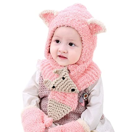 71e254b49c7 Image Unavailable. Image not available for. Color  EnjoCho Kids Winter Hats  Baby ...