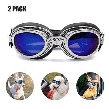 DLDL Gafas para Mascotas y Gafas de Sol para Mascotas ...