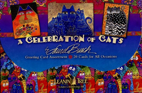 a-celebration-of-cats-by-laurel-burch-20-greeting-cards-with-full-color-interiors-and-designed-envel