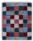 Easy Quilt Kit - Exclusive Après Ski Alpine Snuggler (Rag-Style) Flannel Quilt Kit - Good Beginner Quilt - Free US Shipping