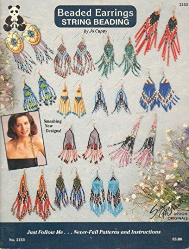 - Beaded Earrings String Beading
