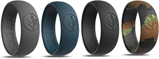 MAUI RINGS Silicone Wedding Ring Engagement Rings for Men Wedding Band Mens Ring Rubber Bands Rubber Ring Mens Rings Silicone Ring Surf Fitness