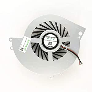 QUETTERLEE Internal Cooling Cooler Fan for SONY Playstation 4 PS4 CUH-1200 CUH-12XX CUH-1200AB01 1200AB02 1215A 1215B Series KSB0912HE FAN Note: This item can not fit for PS4 CUH-10XXA -11XXA Series