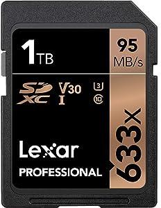 Lexar Professional 633x 1TB SDXC UHS-I Card (LSD1TCBNA633)