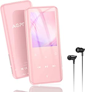 32GB MP3 Player with Bluetooth 5.0, AGPTEK 2.4