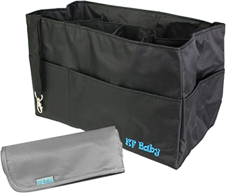 KF Baby Waterproof Cloth Diaper Travel Wet Dry Bag Small Large Combo Set of 3