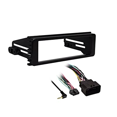 Metra 99-9600 Stereo Installation Kit for Select 1998-2013 Harley Davidson Motorcycles (Black): Car Electronics