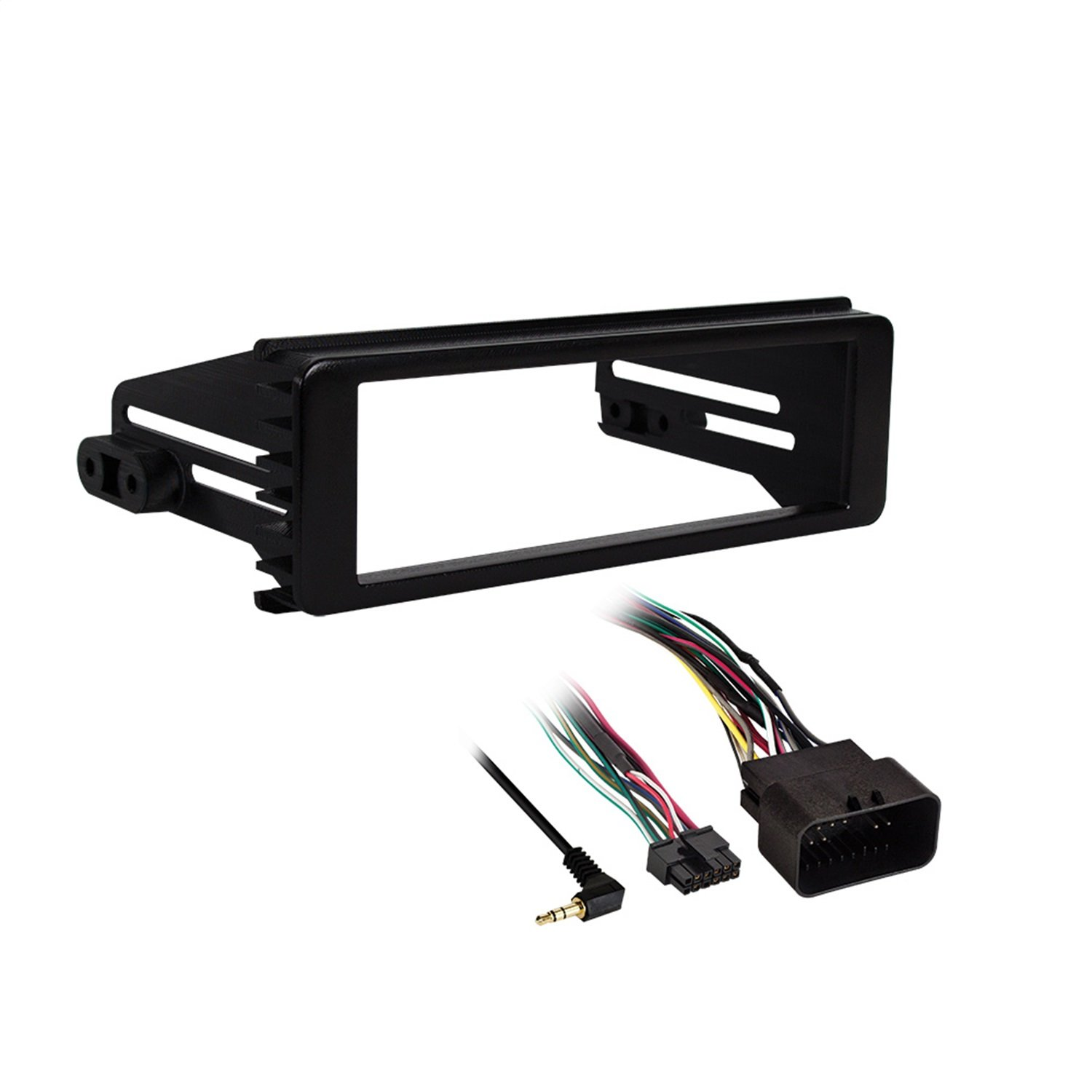 Metra 99-9600 Stereo Installation Kit for Select 1998-2013 Harley Davidson Motorcycles (Black)