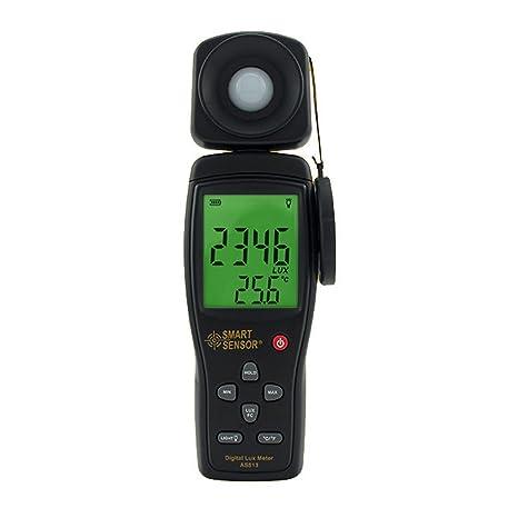 Shengjuanfeng Iluminómetro Digital Brillo Detector AS813