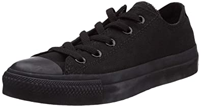 7ba576fdc8d8e3 Image Unavailable. Image not available for. Color  Converse M9166  Chuck  Taylor All Star Unisex Ox Low Top Black Sneakers