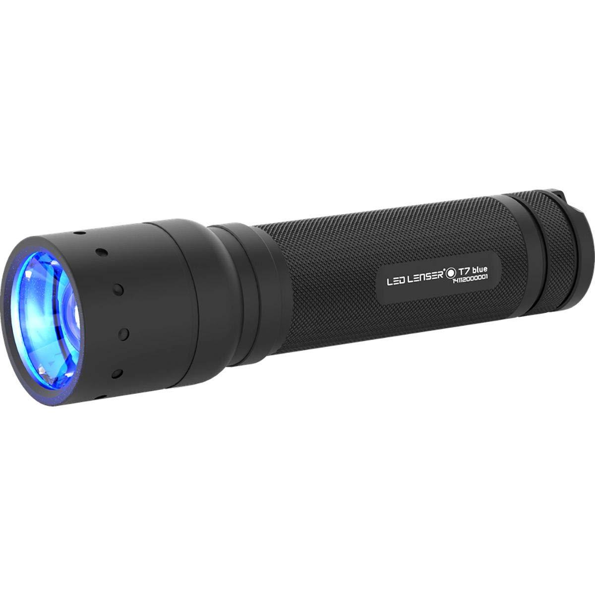 Zweibrüder Ledlenser T7.2 Blau Taschenlampe T7, T7, Taschenlampe schwarz, S 82c013