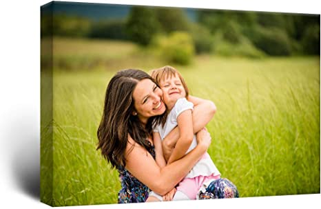 Your Own Custom Personalized Photo Picture Canvas Wall Art Print 16x24 inches