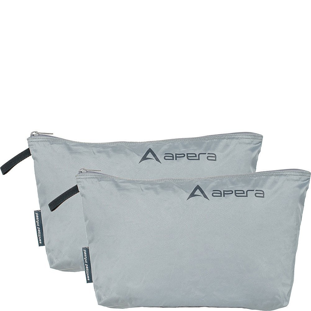 Apera Fit Pocket Zippered Organization Bag, 8.5 H, Electric Lime, 2 Piece 8.5 H 101 500 1412