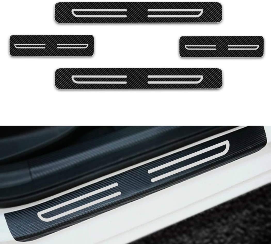 Outer Rear Protection Sill Trunk Tread Plate Trim 1p For Honda Civic Sedan 16-18