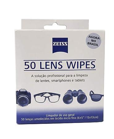 96336160206df Lens Wipes com 50 Lenços Umidecidos