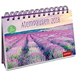 Atempausen 2018: Postkarten-Kalender mit separatem Wochenkalendarium