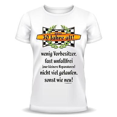 Lustige Spruche Fun Tshirt Uber 30 Jahre Alt 30 Geburtstag
