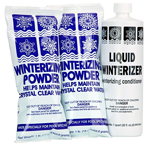Rx Clear Winter Pool Closing Kit | Non-Chlorine for Above or In Ground Swimming Pools | Up to 20,000 Gallons