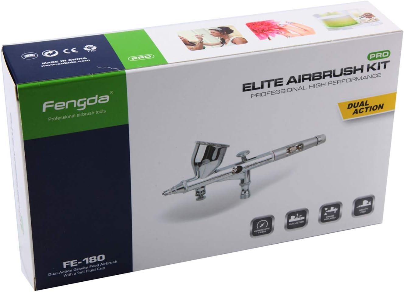 Airbrush Spritzpistole Fengda® BD-180 mit der Düse 0,2 mm