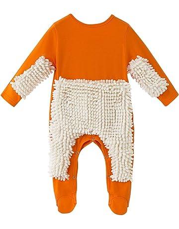 YEBIRAL Kinder Unisex Baby Body M/ädchen Jungen Karikatur Drucken Bodysuit Kurzarm Strampler Baumwolle Spielanzug 0-24 Monate Neugeborenen Schlafstrampler