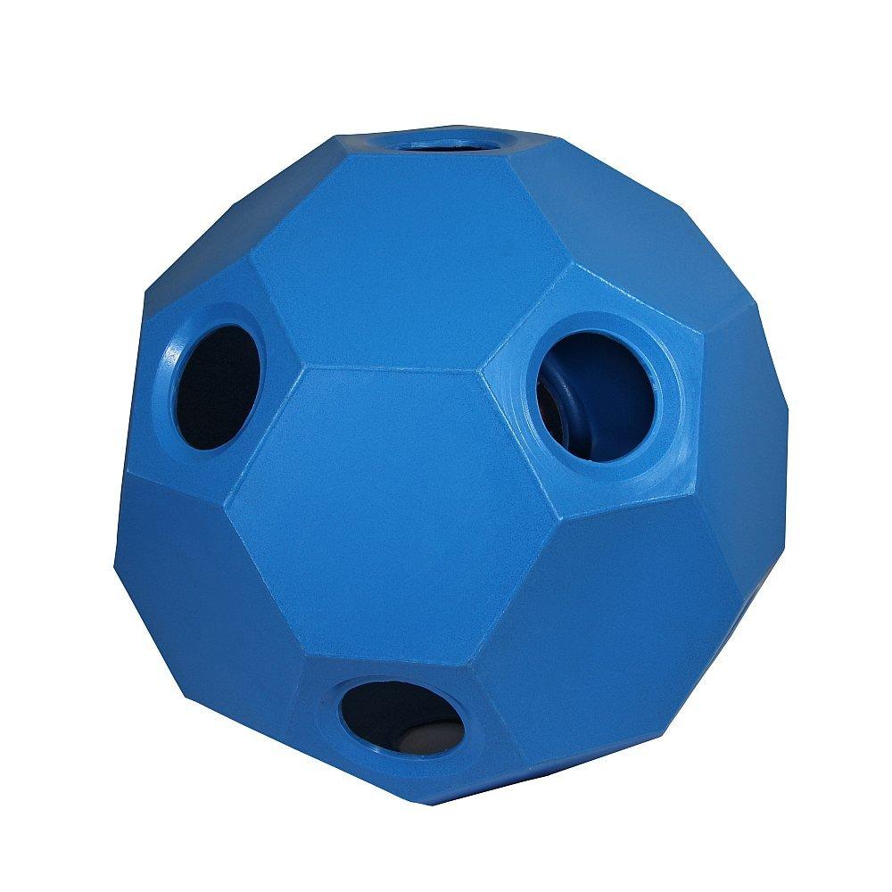 Hay Play Heuball Futterball Heufütterer Pferde Pferdespielzeug blau Parallax