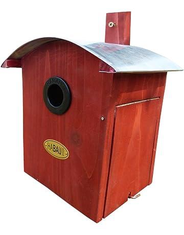 HABAU 2964 – Nido con techo redondeado, rojo